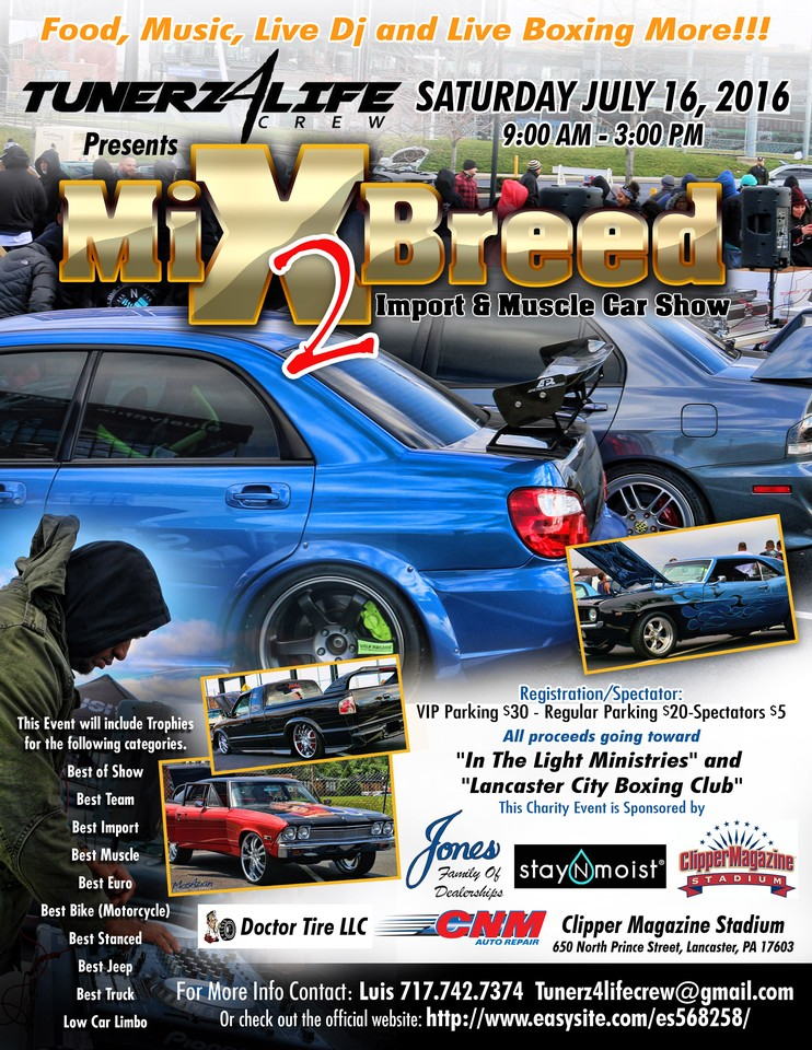 TunerzLifeCrew Brings An Import Muscle Car Show To Clipper Stadium - Car show categories